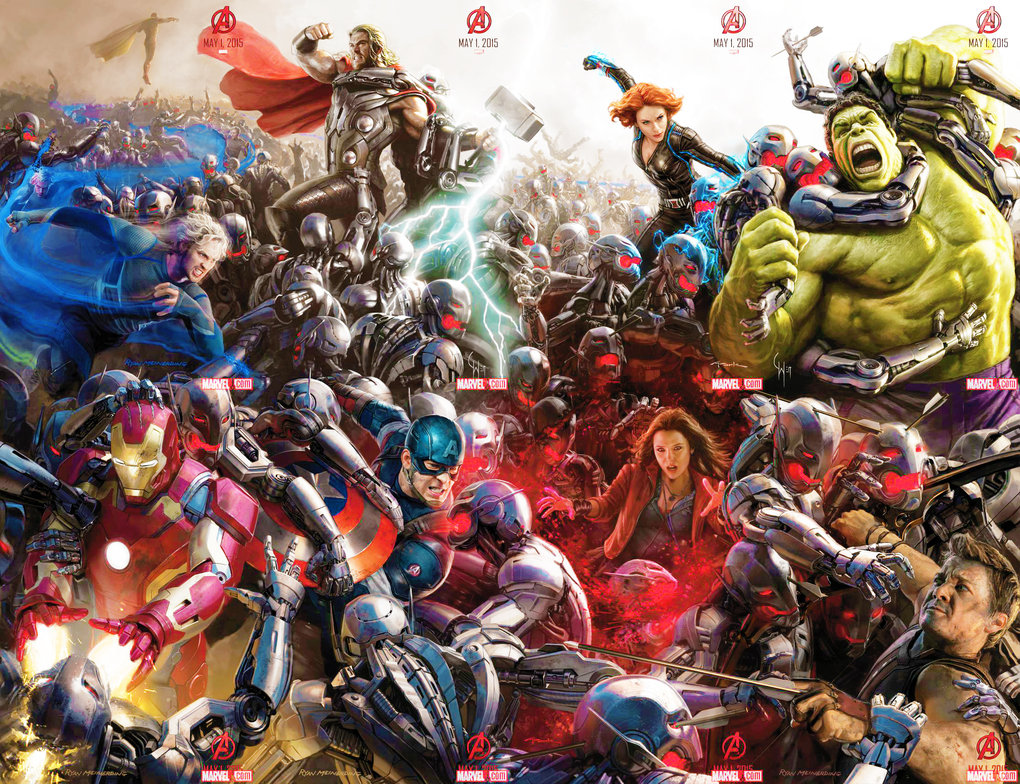 Avengers: Age of Ultron by MrsKanda