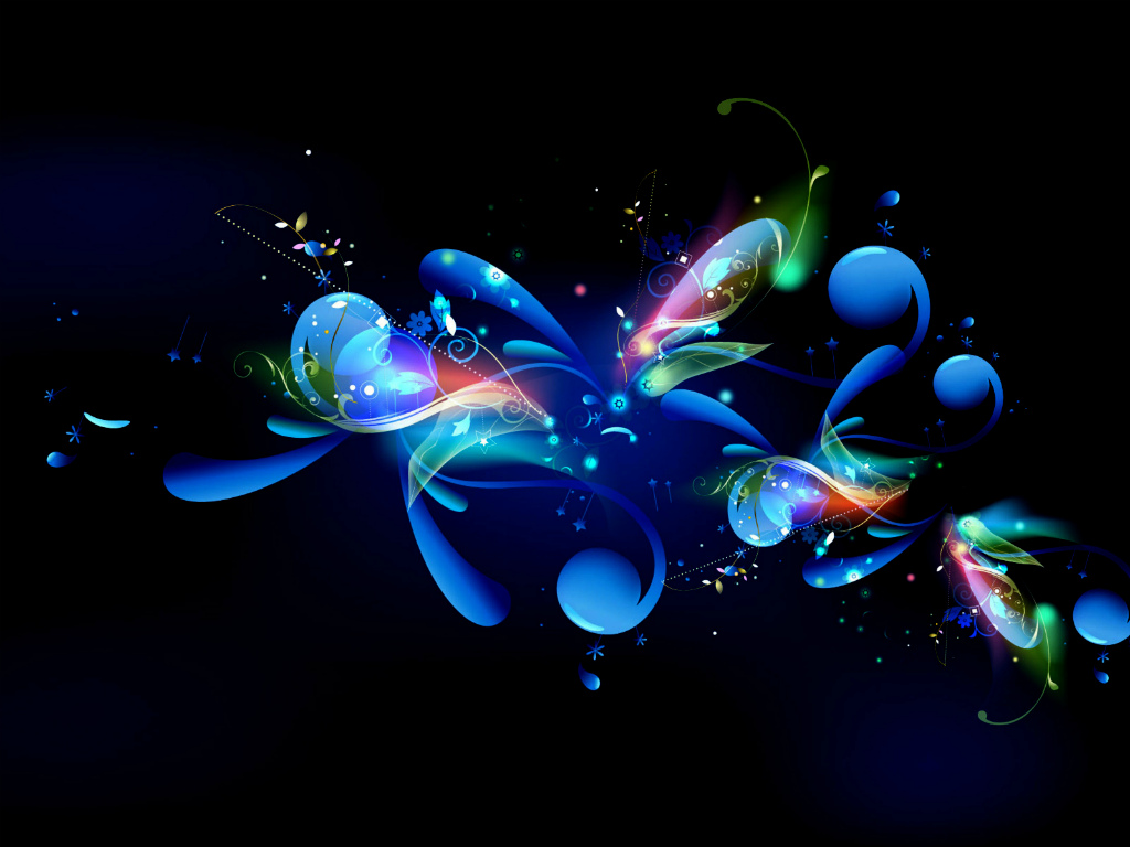 Cool Abstract background Blue