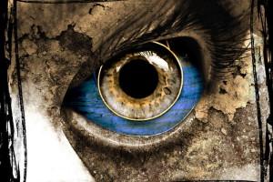 Blue Horror Eye