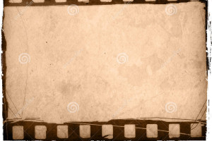 Old-fashioned film strip effect backgrounds