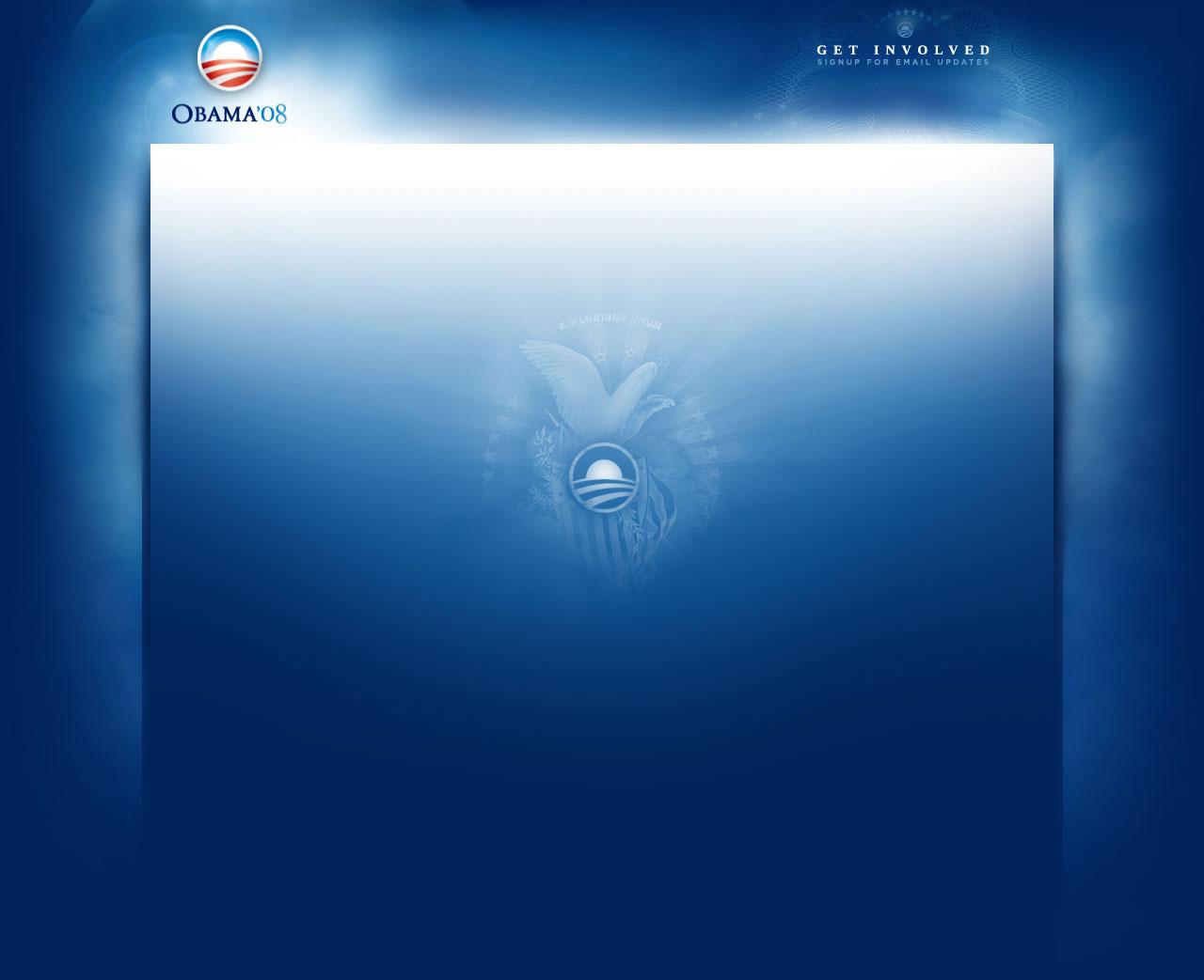 Blue Website background