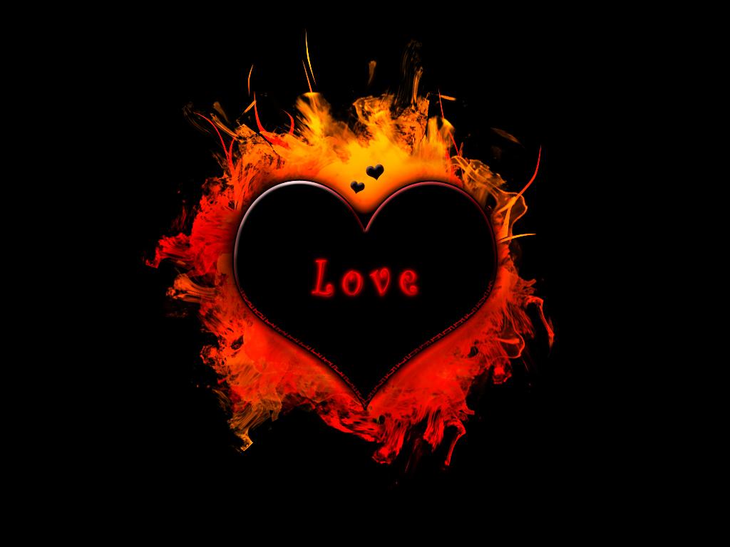 Black Heart Hd Wallpaper